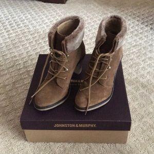 Johnston & Murphy booties